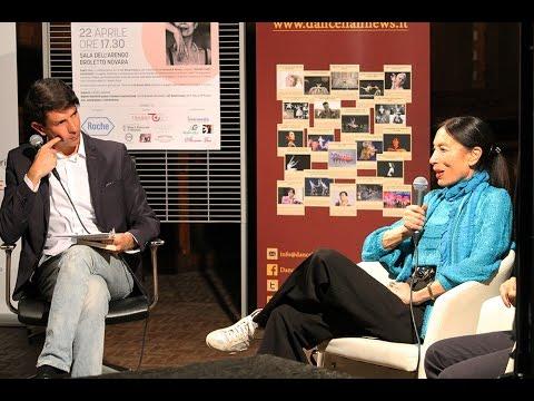 "Intervista su Video Novara a Francesco Borelli e Luciana Savignano per il ""Novara Dance Experience"""