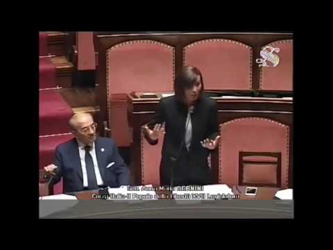 Anna Maria Bernini interviene al Senato sui Corpi di Ballo
