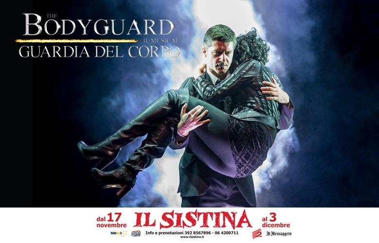 bodyguard locandina sistina copy