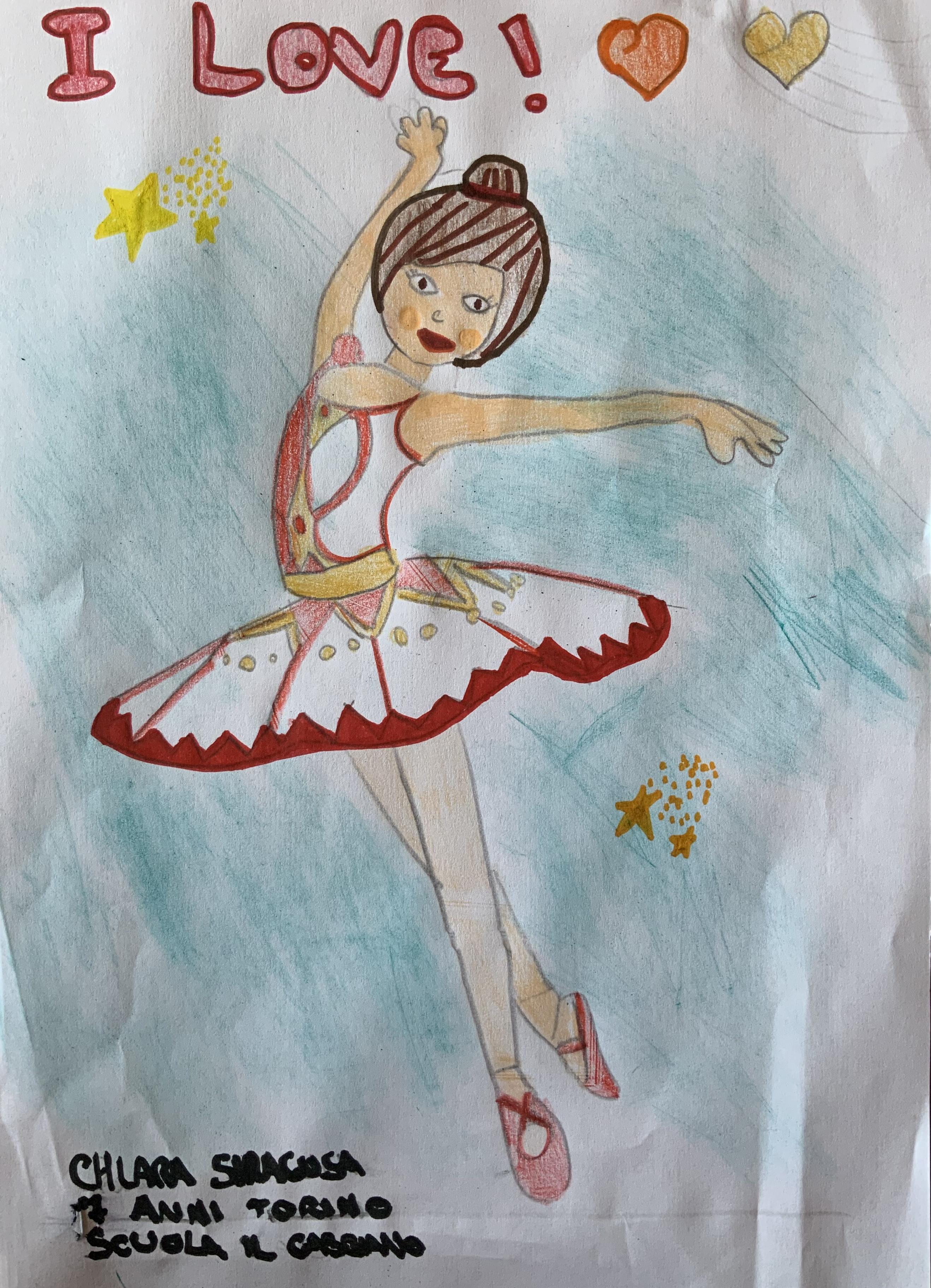 Chiara scuola di danza il Gabbiano Torino