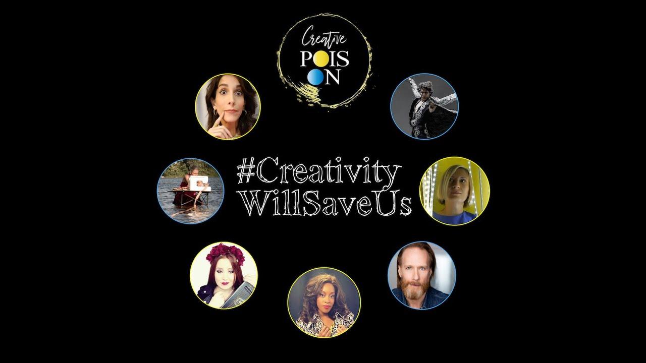 #CreativityWillSaveUs: la creatività contro il COVID. Con Herman Cornejo e Rachele Buriassi