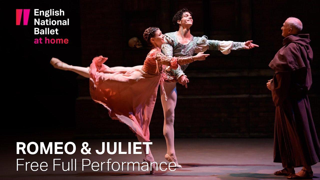 "Oggi, l'English National Ballet manderà in onda ""Romeo & Juliet"" di Rudolf Nureyev"