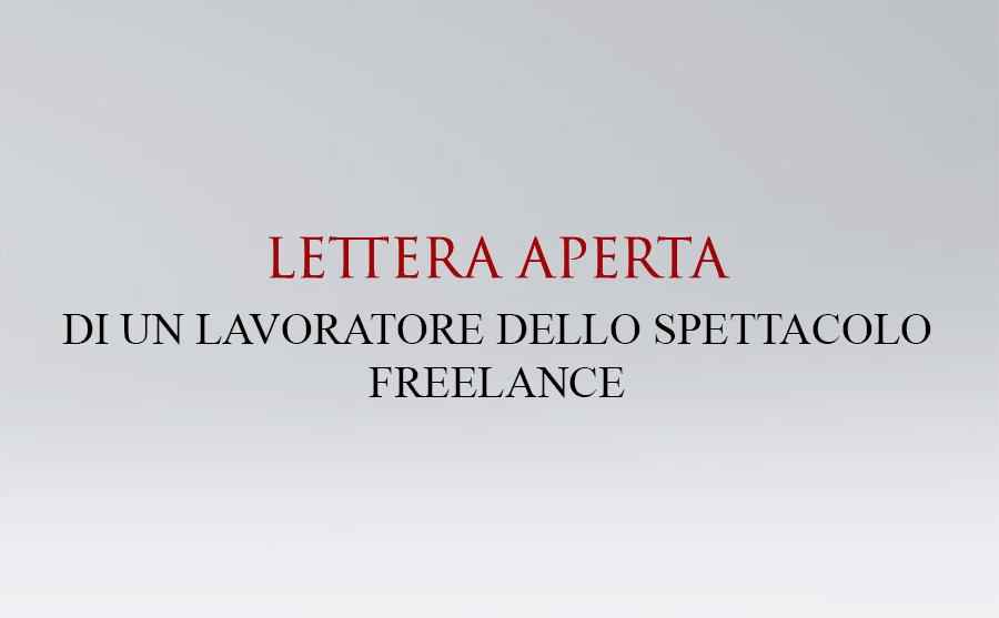 lettera aperta freelance