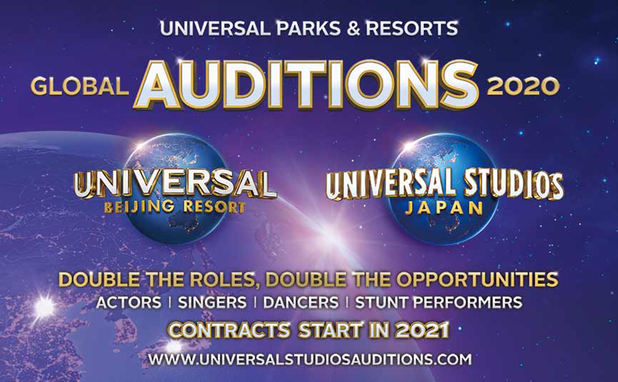 universal auditions