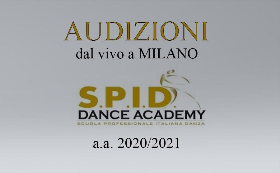 spid dance academy audizioni