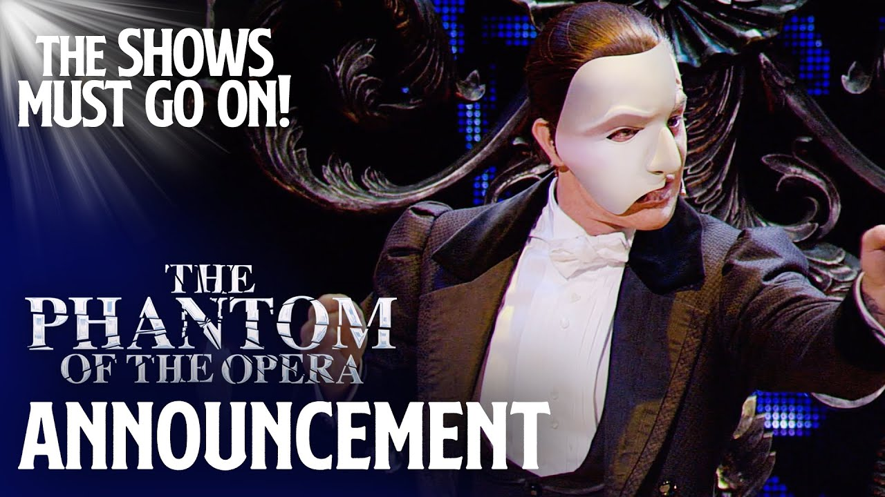 """The Phantom of the Opera"" torna disponibile in streaming per 24 ore"