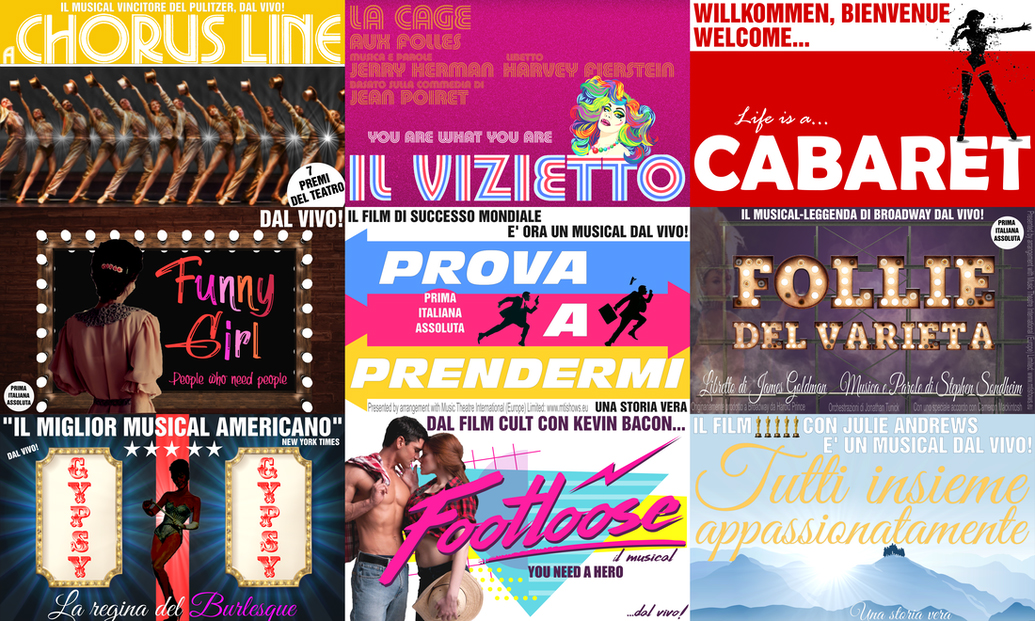Broadway Milano spettacoli