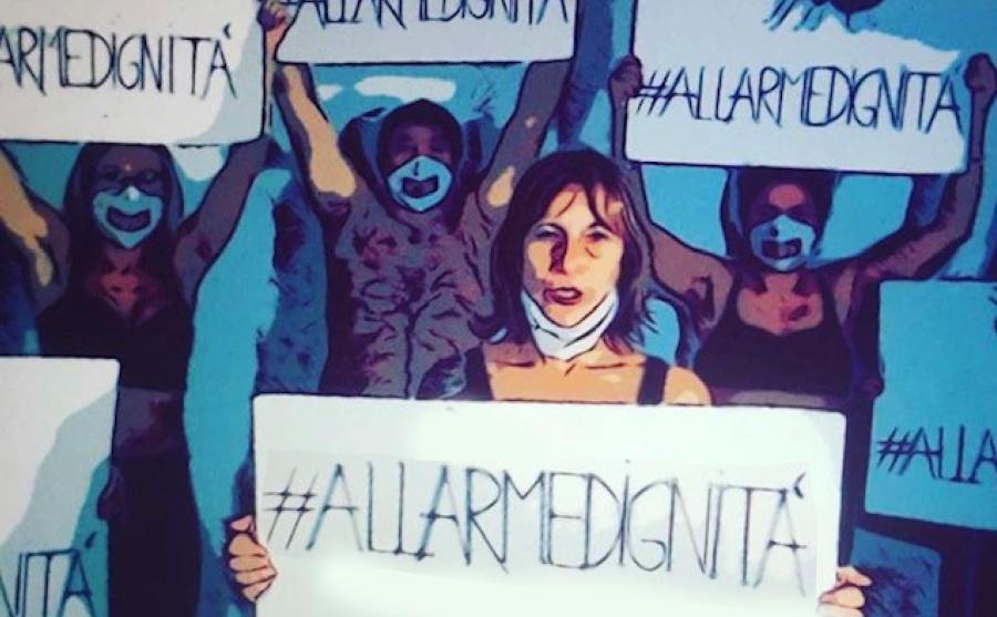 #allarmedignità