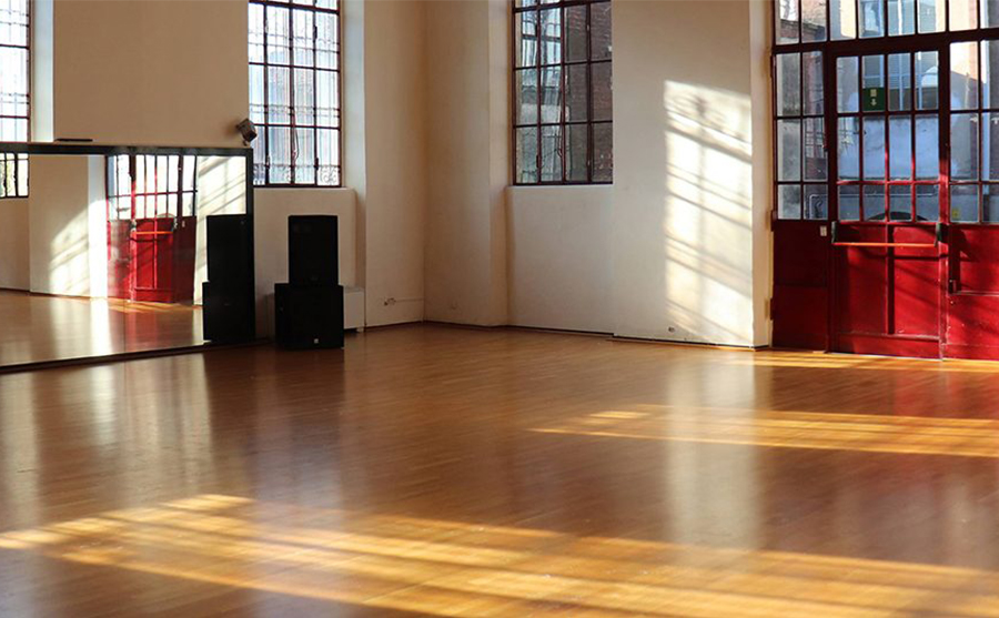 sala di danza vuota