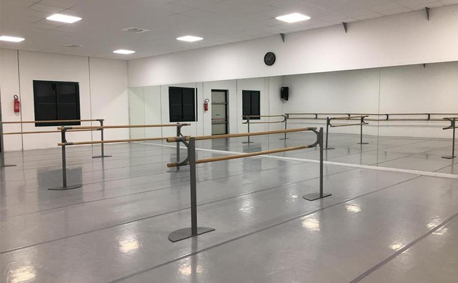 sala danza vuota