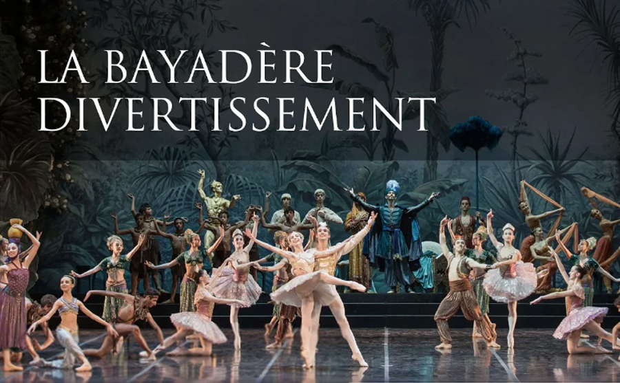 la bayadere divertissement