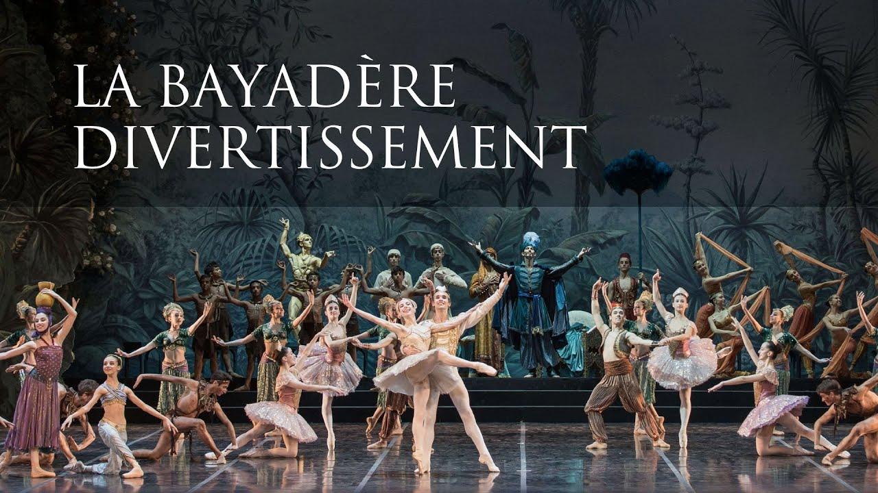 """Oggi alle 20 """"La Bayadère Divertissement"""" con la Scuola di Danza dell'Opera di Roma"""