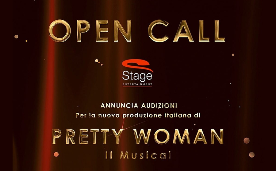pretty woman musical audizioni