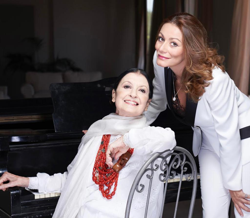 Carla Fracci e Alma Manera