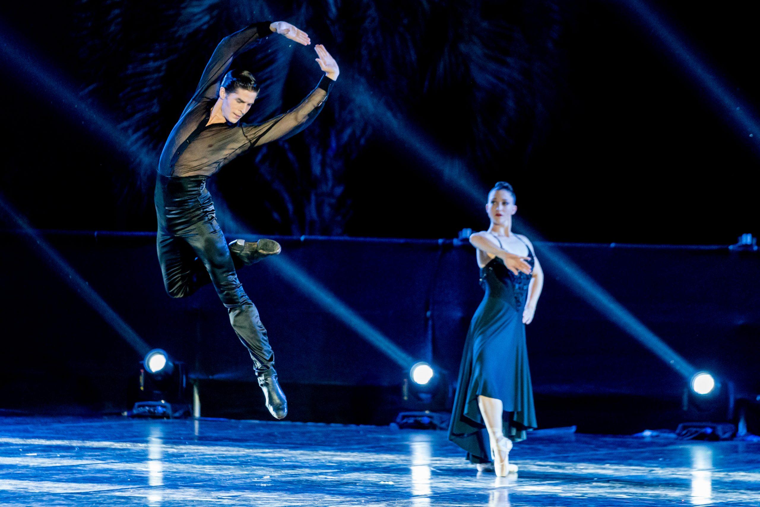Sergio Bernal and Ashley Bouder in Histoire du soldat, Stravinsky's Love -® Graham Spicer _DSC8022
