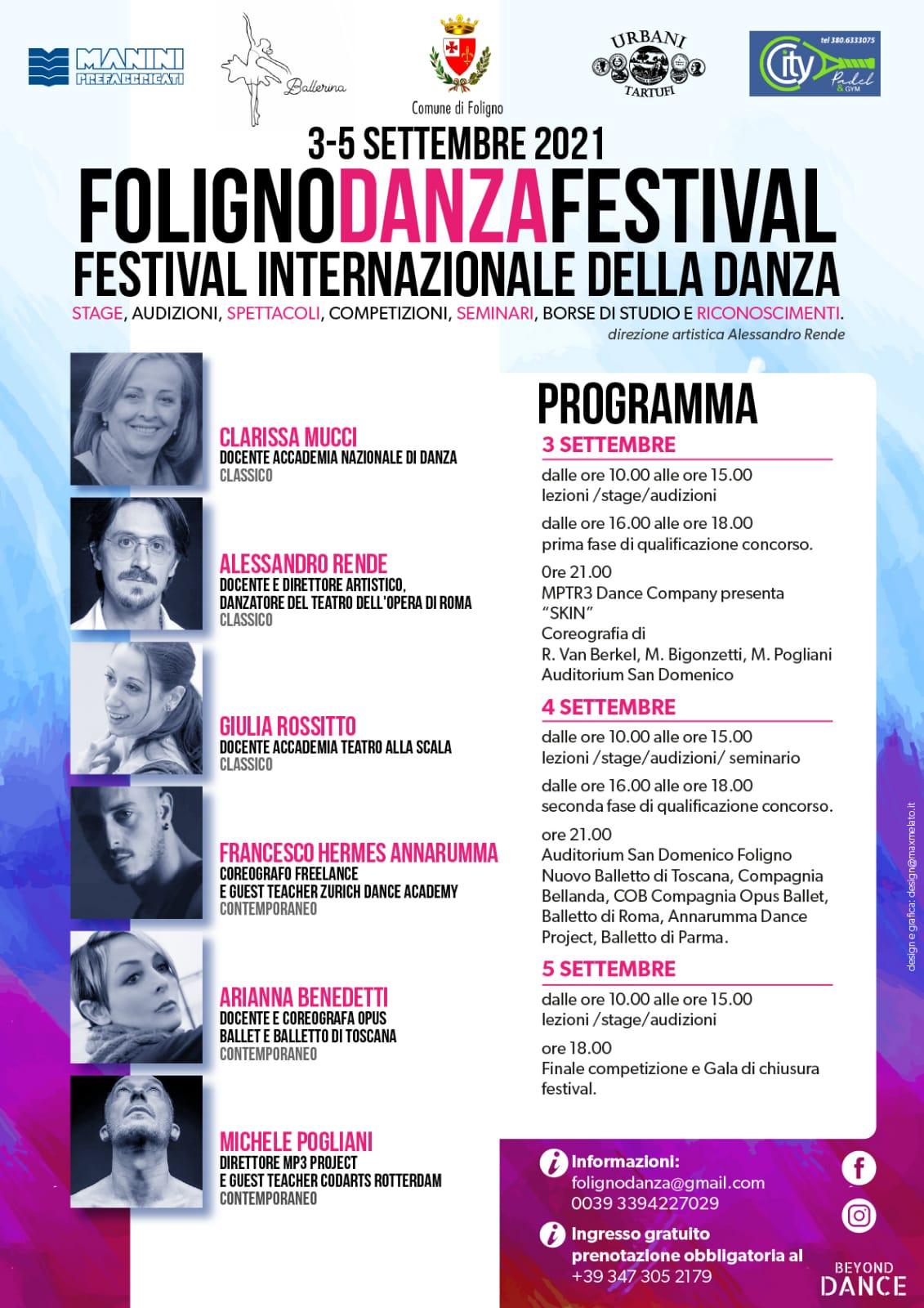 Foligno Danza Festival_Programma